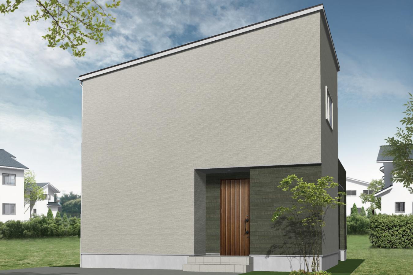 アウトドア派の家の外観イメージ