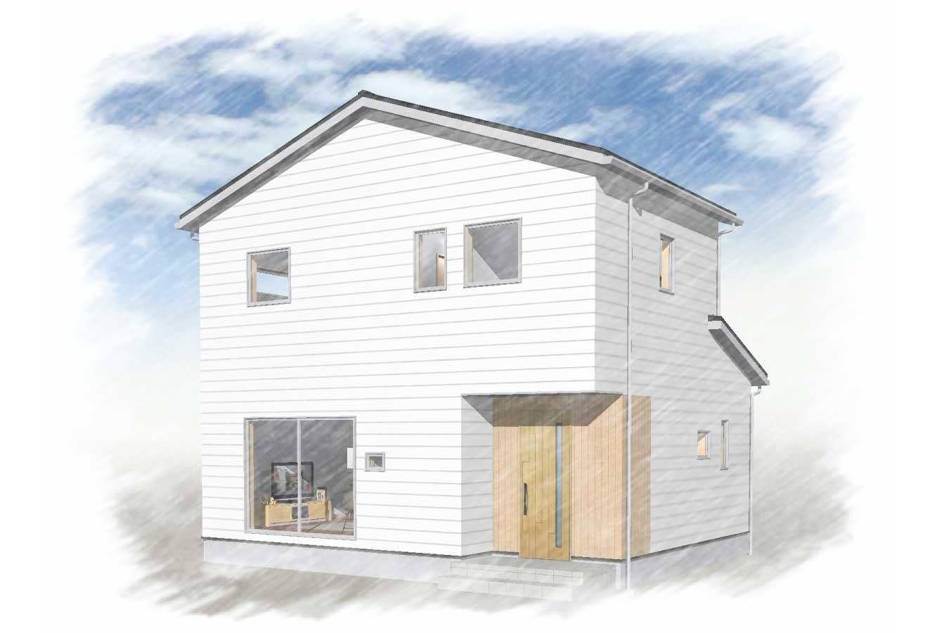 グリーンスタイルの定額制企画住宅シスタです。デザイン性を高め、スタイル、コーディネートも多数ご用意。